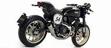 Ducati Cafe Racer Exhaust