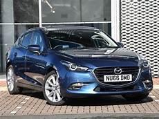 Used Mazda 3 2 0 Sport Nav 5dr Blue 2016