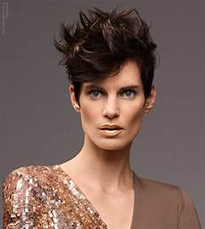 elegant style for short hair