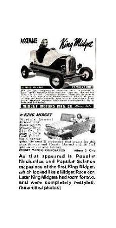 cing car magasine 38 best king midgets images small cars microcar car