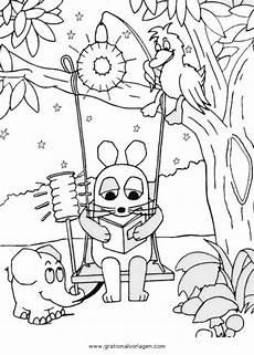 Malvorlage Maus Einfach Sendung Maus 08 Gratis Malvorlage In Comic