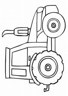 tractor border clip white tractor clip image