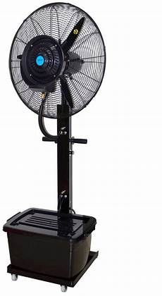 wtrtr 26 inch powerful outdoor mist fan with 40 liter