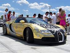 Gears HD Supercars Bugatti Veyron Covered In Gold