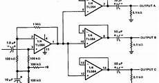Build A 3 Channels Audio Splitter Lifier Circuit