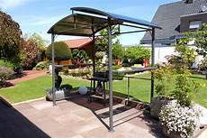 leco profi grillpavillon pavillon garten terrasse grill