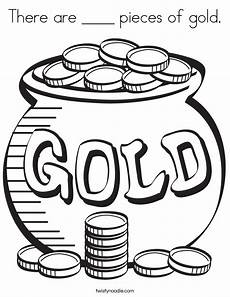 Malvorlagen Gold There Are Pieces Of Gold Coloring Page Twisty Noodle
