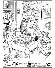 birthday object worksheet 20250 object pictures printable for printable birthday objects coloring