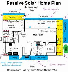 passive solar house floor plans passive solar house plan house ideas pinterest