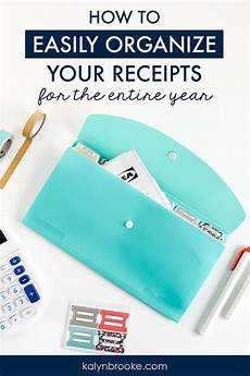 how to keep track of receipts a simple 3 step system
