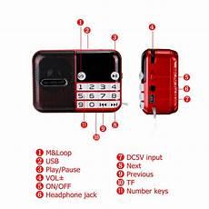 Portable Radio 108mhz Power Memory Digital by Portable Fm Radio 70 108mhz Digital Display Power