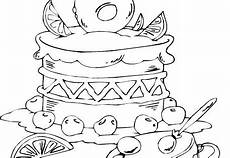 Malvorlagen Age Cake Birthday Cake Age 6 Coloring Page Coloringcom Digi