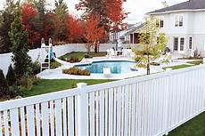 Cout Cloture Jardin Concept Jardin Cl 244 Tures De Pvc Sefaco Pvc