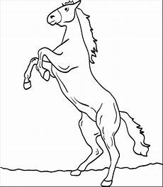 Malvorlage Pferd Einfach Printable Coloring Page For 4 Supplyme