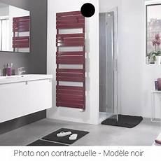 radiateur s 232 che serviettes ad 233 lis eau chaude 495w noir