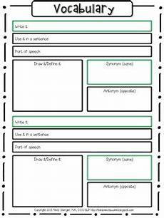 vocabulary worksheet write it define it and more by