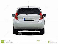 voiture view white car rear view stock image image of expensive brake 54355729