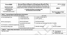 form 5500 erisa plans with 100 or more participants are required