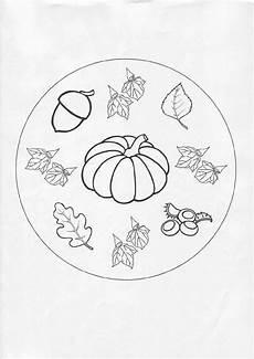 mandalas for beginners autumn mandala