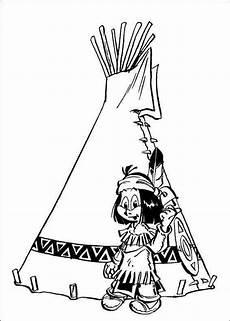 Ausmalbilder Info Indianer Yakari 32 Ausmalbilder Faaliyetler Desenler