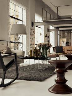 beautiful loft design a solution to space beautiful loft space with mid century finds home design