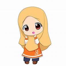 Gambar Kartun Muslimah Yang Imut Gambar Kartun