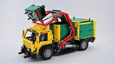lego truck moc lego technic front loaded rc garbage truck