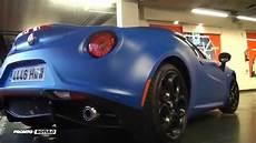 Alfa Romeo De - car wrapping alfa romeo de negro a azul mate con detalles
