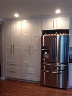 Kitchen Makeover Jj by White Ikea Pantry Samsung Stainless Steel