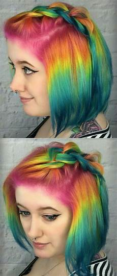 bright hair colors on pinterest bright hair rainbow hair and 17 best images about colorful hair on pinterest teal hair scene hair and two tones