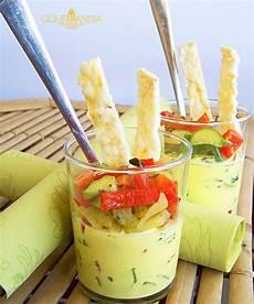 Crema Inglese Salata | crema inglese salata e macedonia di verdure alle fines herbes gourmandia