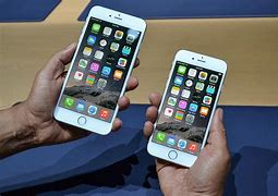 Image result for Is the iPhone 6 and 6 plus the same size?