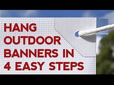 How To Hang A Banner In 4 Easy Steps