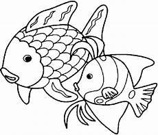 Regenbogenfisch Ausmalbilder Malvorlagen Seite 3