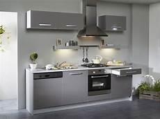 meuble cuisine gris pas cher