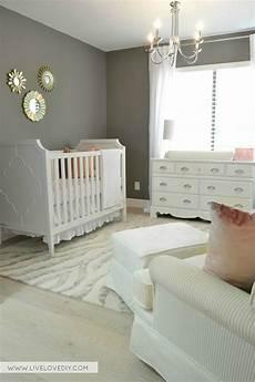 pink gray nursery with benjamin chelsea gray wall color livelovediy pink gray