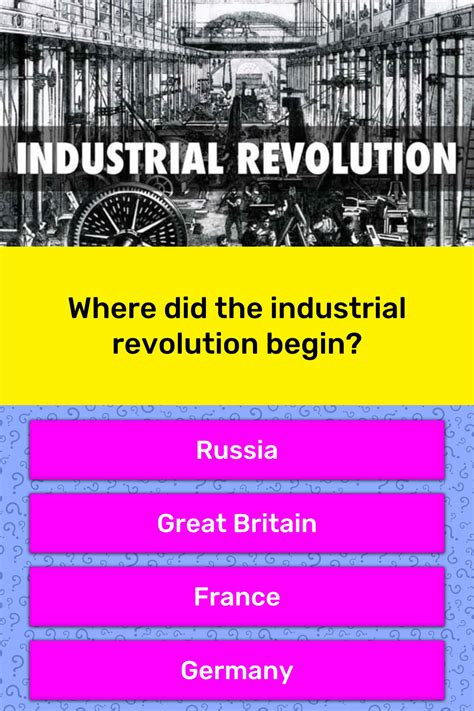 How Was The Industrial Revolution Started