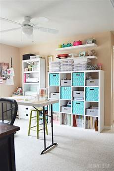 cute craft room ideas cute functional craft room a budget the happy scraps