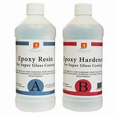 Epoxy Resin 16 Oz Kit Clear For Gloss