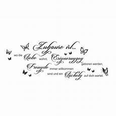 Wandtattoo Zuhause Ist Wo Die Liebe Wohnt Spruch Zitat