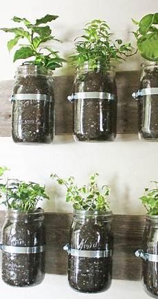 plante suspendue verre diy d une jardini 232 re suspendue en bocaux de verre herbes