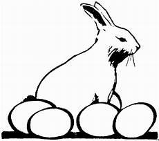 Malvorlage Hase Seitlich Seitlich Hase Mit Eiern Ausmalbild Malvorlage Gemischt