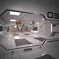 futuristic interior 3d futuristic interior