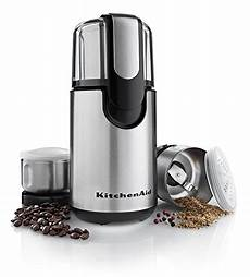 Kitchenaid Grinder Tips by Kitchenaid Bcg211ob Blade Coffee And Spice Grinder Combo