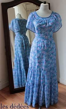Les Dedees Vintage Recup Creations La Robe Longue