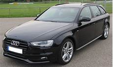 2013 Audi A4 Avant Black Car Front Wallpapers Audi