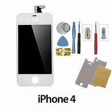 Vitre Avant Iphone 4 Pas Cher Vitre Iphone 4 Blanc Complet Ecran Tactile Et Lcd Qualit 233