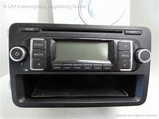 vw polo 6r bj 11 radio autoradio rcd210 5m0035156c mp3 cd