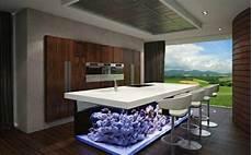 Aquarium In Wand Integrieren Wundervolles K 252 Chendesign Mit Aquarium Das Den Ozean Mit