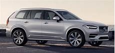 Volvo 2020 Fuel Consumption by 2020 Volvo Xc90 Facelift Breaks Cover With Kers System